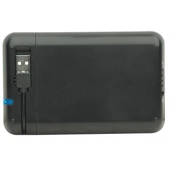 PORTA DD MANHATTAN 2.5 SATA   USB 2.0 NEGRO [ 130042 ][ AC-1913 ]