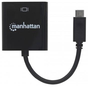 CABLE CONVERTIDOR MANHATTAN USB-C 3.1 A HDMI 4K MACHO-HEMBRA [ 151788 ][ AC-5497 ]