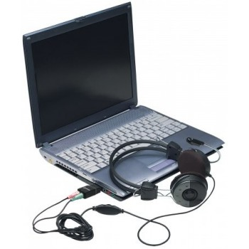 CONVERTIDOR MANHATTAN USB 2.0 A TARJETA SONIDO 2.1 [ 152754 ][ AC-6582 ]