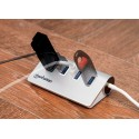 HUB MANHATTAN USB V3.0 4 PTOS SIN FUENTE ALUMINIO  [ 163767 ][ AC-7244 ]