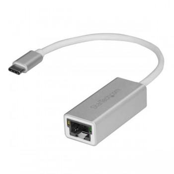 ADAPTADOR DE RED GIGABIT USB-C - USB 3.1 GEN 1 (5 GBPS) - PLATEADO - STARTECH.COM MOD. US1GC30A [ US1GC30A ][ AC-8556 ]