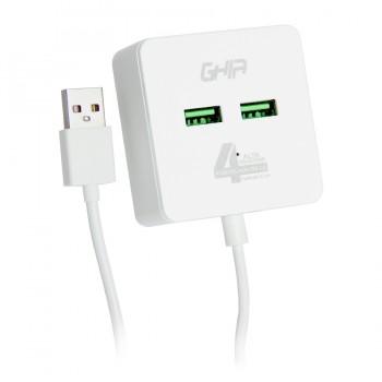 HUB USB 2.0 GHIA DE 4...