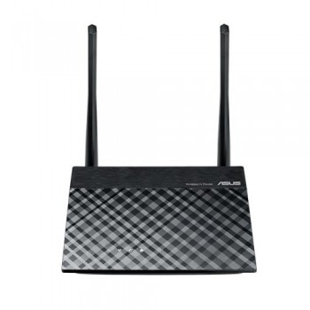 ROUTER ASUS RT-N300 B1 300MBPS 2.4GHZ 4X LAN MIMO 2X ANTENAS EXT REPETIDOR ACCESS POINT INALAMBRICO [ RT-N300-B1 ][ NIC-2292 ]